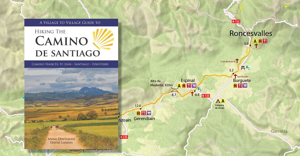 Hiking the Camino de Santiago guidebook
